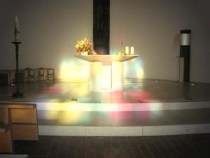 altar im licht dettingen2